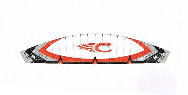 Kite 17,0 m2 Cabrinha CO2 použitý (komplet)
