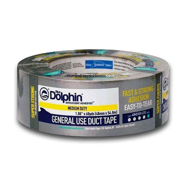 Lepicí páska 50m x 4,8cm Dolphin stříbrná 3M